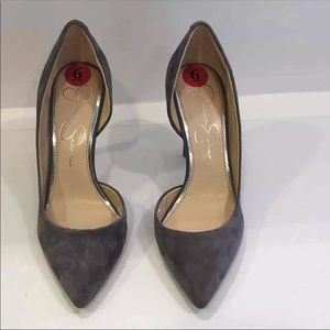 Jessica Simpson Shoes - New Jessica Simpson Suede Heels 👠 👠